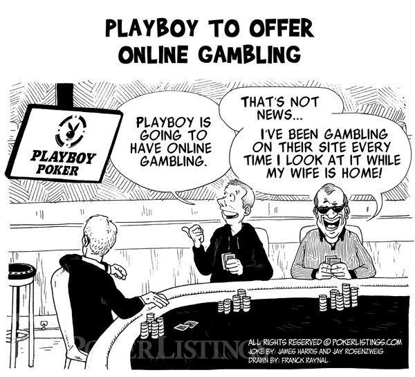Poker Joker - Playboy to offer online gambling