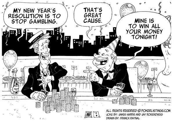Poker Joker - Happy New Year 2103 from Poker Listings!