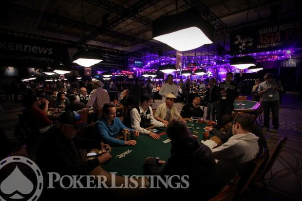 2013 WSOP Main Event Day 5 Amazon Room 2