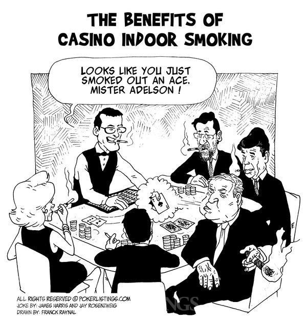 Benefits of casino indoor smoking