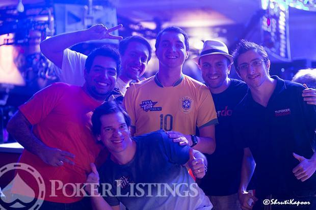 Brazilians at 2013 WSOP Main Event