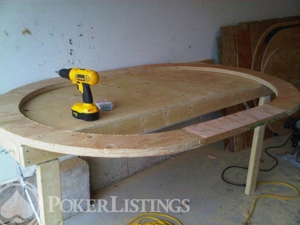 How to build your own poker table for under 300 images plans - Build your own poker table ...