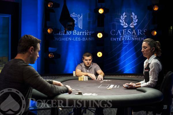 Heads UpDan OBrienDarko Stojanovic2013 WSOP EuropeEV035K Mixed MaxFinal TableGiron7JG8958