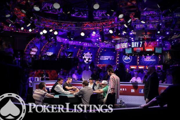Day 7 of the 2012 WSOP Main Event