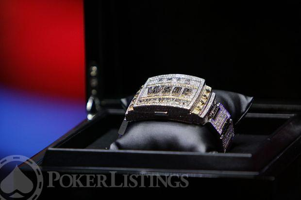 2014 WSOP Main Event Bracelet