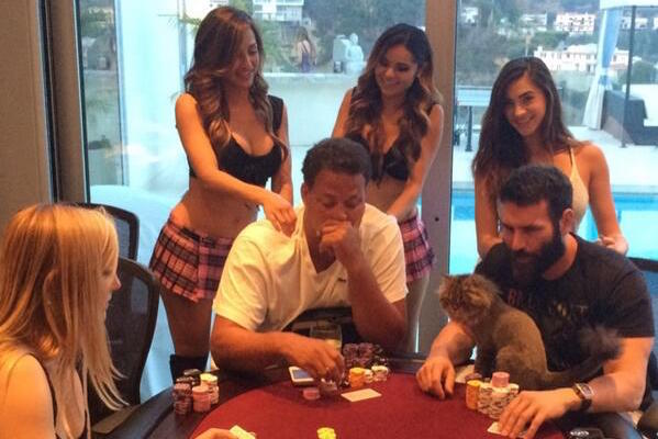 Dan Bilzerian Home Game