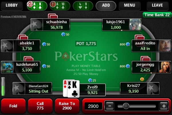 PokerStars Brings Zoom Poker to iPhone, iPad and Android