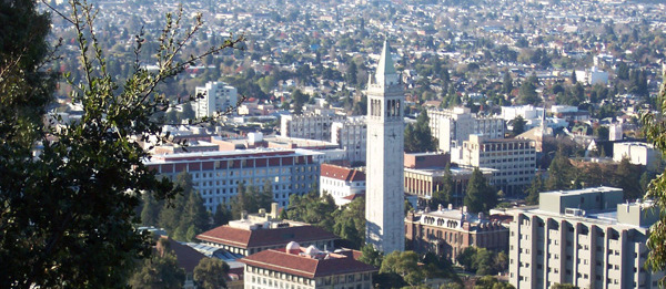 UC Berkeley campus overview from hills.h