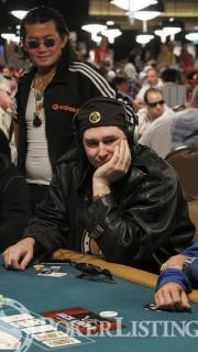 Scotty Nguyen and Phil Hellmuth