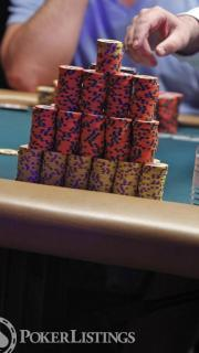 Paul Volpe's Chip Stack
