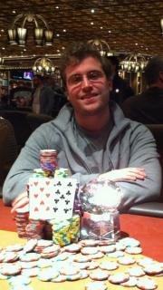 Thomas Marchese Event 4 winner