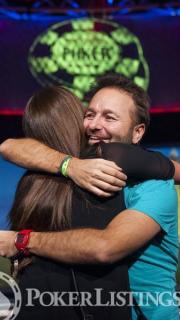 WSOP Bracelet Winner Daniel Negreanu2013 WSOP EuropeEV0725K NLH High RollerFinal TableGiron7JG9395