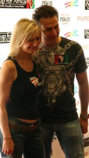 Jen Harman and Marco Traniello