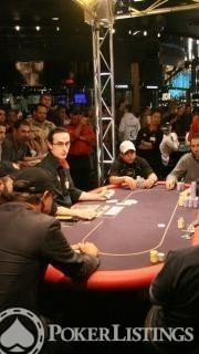 The Feature Table at the 2007 Aussie Millions