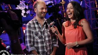 Daniel Negreanu and Kara Scott