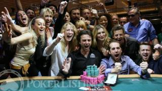 Fabrice Soulier Winner WSOP with Friends