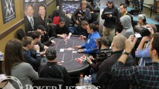 The nine-handed final table