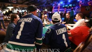 Two Canucks fans at the World Series of Poker