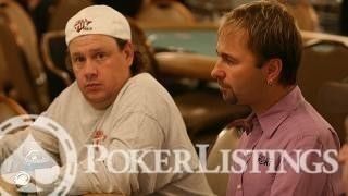 Gavin Smith and Daniel Negreanu