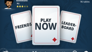Play Texas Hold'em on your smartphone with Appeak