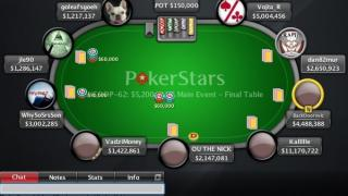 WCOOP 2011 main event final table