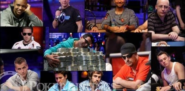Full Player List and Bios for 2014 $1m WSOP Big One for One Drop