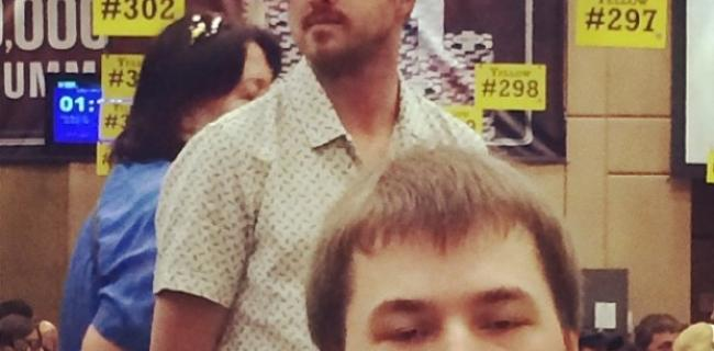 Breaking Bad's Aaron Paul On Stealth Mission at World Series of Poker