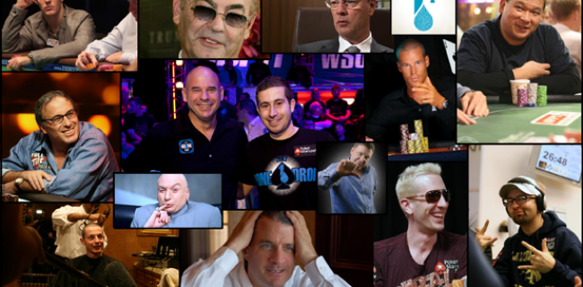 $1 Million Big One for One Drop at 2012 WSOP: Player List and Bios (UPDATED!)
