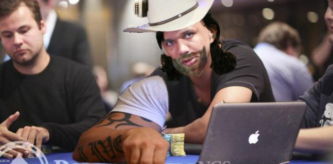 Behold the World's Greatest/Most Terrifying Poker Player