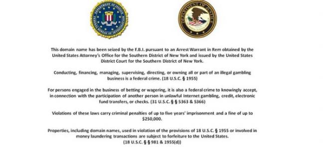 Black Friday Bulletin Board - US Online Poker Legal Updates (Updated 09/19/2012)