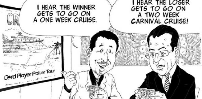 Playing Poker for a Cruise Package