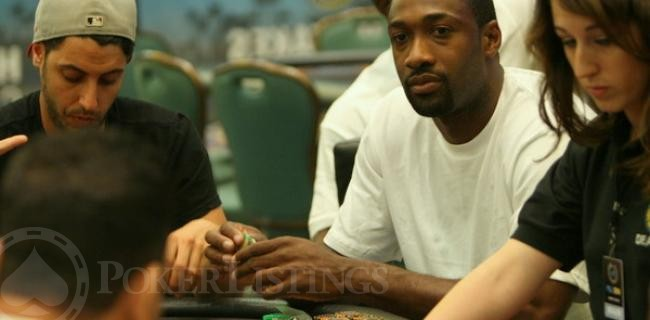 Gilbert Arenas Plays High-Stakes Poker with Pros in Bahamas