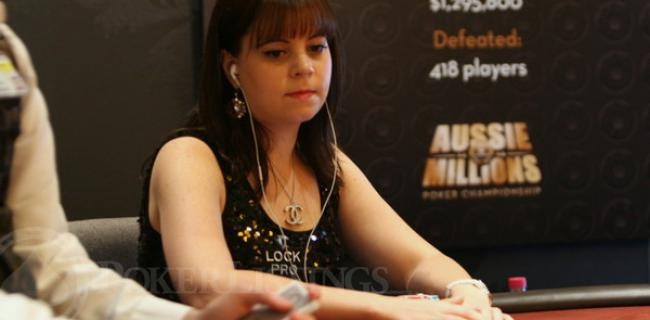 Annette Obrestad Looks Awesome at the 2013 Aussie Millions