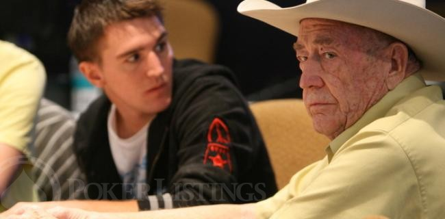 Doyle Brunson EPT London Picture Book