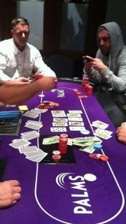 Pokerati Game at the Palms