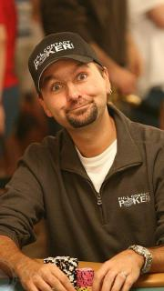 Negreanu plays it up for the camera