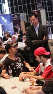 Daniel Negreanu and Edgar Stuchly