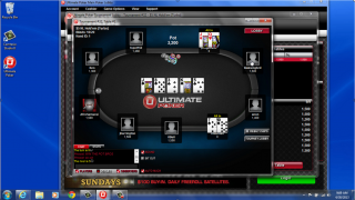 Ultimate Poker first hand