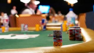 Chip Stacks at Dinner Break in 50K