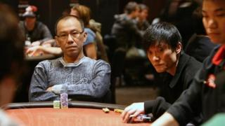 Paul Phua and Wang Qiang