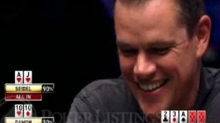 Damon on Ante Up for Africa