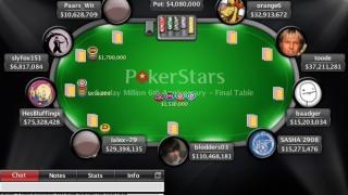 Sunday Million 3 11 12 FT