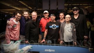 The final table players
