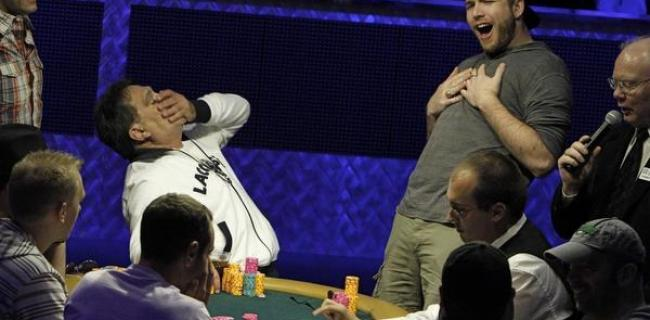WSOP Photo of the Day: Shot Through the Heart