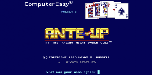 Five Classic MS-DOS Poker Games You Can Play in Your Browser