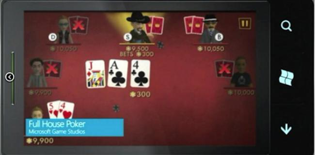 Gimmick of the Week: Play-Money Poker on Windows 7 Mobile