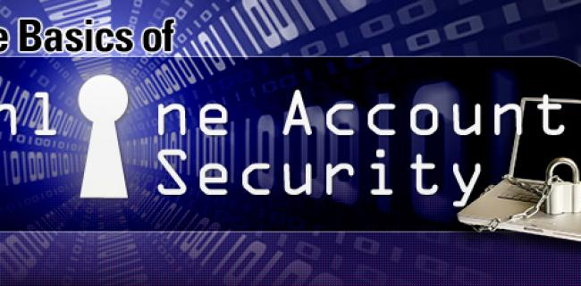 The Basics of Online Account Security (Infographic)