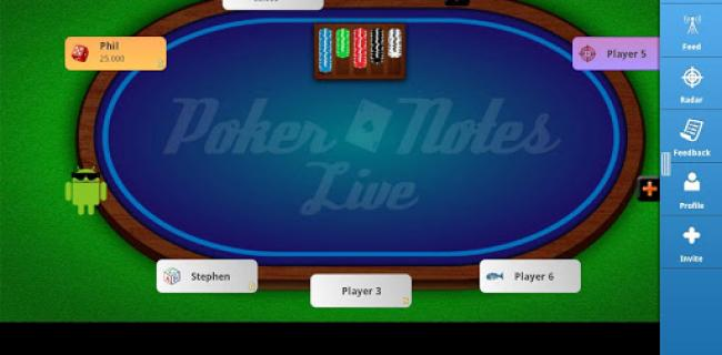 Poker Notes Live Brings Online Style Notes to Real World