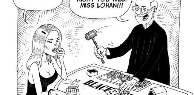 Lohan's Probation is Revoked