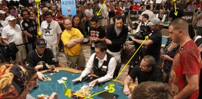 WSOP Photo By Numbers: The $108,000 Bubble